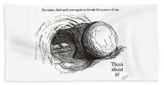 Empty Tomb Hand Towel by Jerry Ruffin