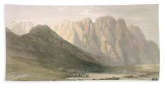 Encampment Of The Aulad-said, Mount Hand Towel