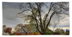 Hand Towel featuring the photograph Enchanted Garden by Eti Reid