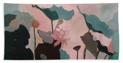 Enchanted Garden Bath Towel