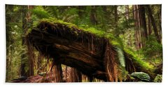 Enchanted Spaces Forests 2 Hand Towel