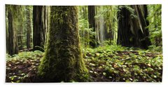 Enchanted Spaces Forests 3 Hand Towel