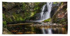 Enders Falls Hand Towel by Bill Wakeley