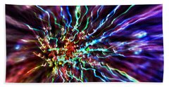 Energy 2 - Abstract Hand Towel