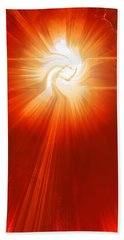 Hand Towel featuring the photograph Energy Warp by Kellice Swaggerty