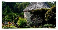 English Cottage Garden Hand Towel