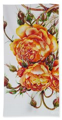 English Roses Hand Towel