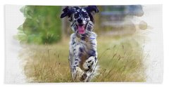 English Setter  Hand Towel