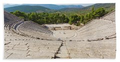 Epidaurus, Argolis, Peloponnese Bath Towel