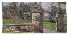 Epperson House House On The Hill Hand Towel