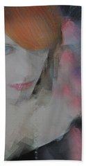 Equanimity Portrait Hand Towel