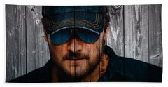 Eric Church Hand Towel by Dan Sproul