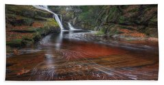 Hand Towel featuring the photograph Ethereal Autumn by Bill Wakeley
