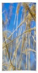 Eulalia Grass Native To East Asia Bath Towel