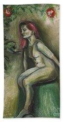 Eve In The Garden  Hand Towel