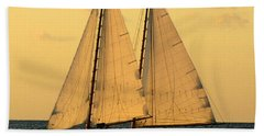 More Sails In Key West Bath Towel