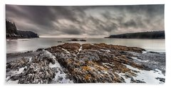 Bath Towel featuring the photograph Evening At Mill's  Bay by Steven Reed