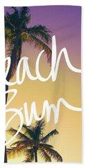 Evening Beach Bum Hand Towel