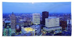 Evening, Buffalo, New York State, Usa Hand Towel