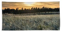 Evening Grasses In The Black Hills Bath Towel