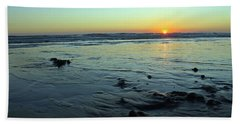 Evening Sunset Bath Towel