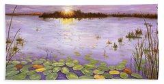 Everglades Evening Bath Towel
