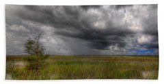 Everglades Storm Bath Towel