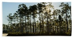 Everglades Sunrise Hand Towel