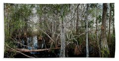 Everglades Swamp-1 Hand Towel