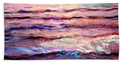 Everything Is Motion - Abstract Art Bath Towel