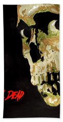 Evil Dead Skull Hand Towel