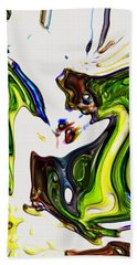 Hand Towel featuring the digital art Expectation by Richard Thomas