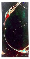 Hand Towel featuring the painting Exploring New Depths by Jacqueline McReynolds