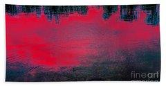 Create Reality Abstract Bath Towel