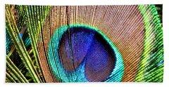 Eye Of The Feather Bath Towel
