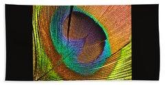 Eye Of The Peacock Hand Towel