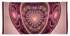 Faberge Heart Hand Towel