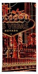 Fabulous Las Vegas Bath Towel
