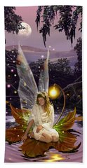Fairy Princess Hand Towel by Garry Walton