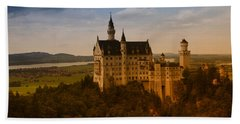 Fairy Tale Castle Hand Towel by Miguel Winterpacht