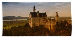 Fairy Tale Castle Hand Towel