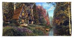 Fairytale Cottage Bath Towel