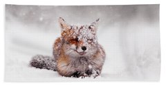 Fairytale Fox II Hand Towel by Roeselien Raimond