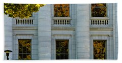 Fall At The Capitol Hand Towel