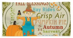 Fall Blessings-c Hand Towel