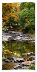 Fall Creek Hand Towel by Christina Rollo
