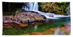 Fall Creek Oregon Hand Towel
