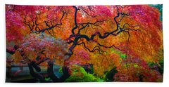 Fall Crowning Glory  Bath Towel