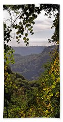 Fall Frames The Canyon Hand Towel