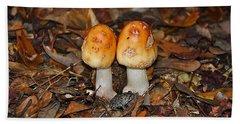 Fall Fungi Hand Towel